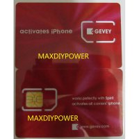 Universal Activation Sim Card for iPhone 2G/3G/3GS/4/4S - Activa