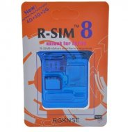 R-SIM8 unlock card for iPhone 4S iPhone 5 3G GSM iOS 6.0~ 6.1.4 WHITE SIM TRAY