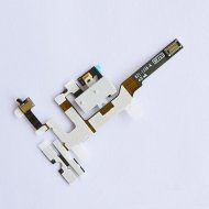 New iPhone 4S Ear Speaker Earpiece Audio Jack Volume Power Switch Flex Cable White