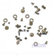 New Genuine OEM Full Screw Set with O-ring Replacement For Apple iPhone 4S 4GS
